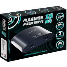 Сборник 250 встроенных игр для приставки Magistr Mega Drive 16Bit 250 игр