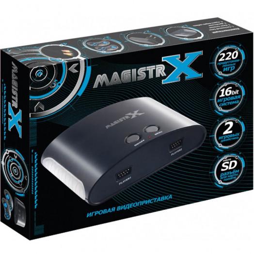 Сборник 220 встроенных игр для приставки Magistr X