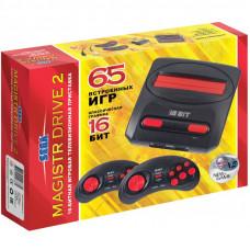Сборник 65 встроенных игр для для приставки Magistr Drive 2 lit