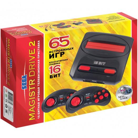 Сборник 65 встроенных игр для приставки Magistr Drive 2 lit