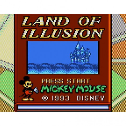 Mickey Mouse - Land of illusion