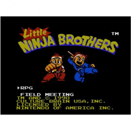 Little Ninja Brothers. Часть 1